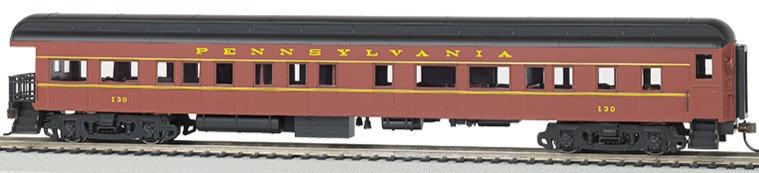 Bachmann Silver 13802, Coche de pasajeros Pennsylvania RR observatorio ILUMINADO