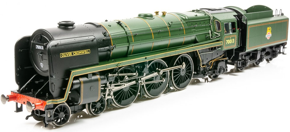 Hornby R3865, Locomotora Britannia  4-6-2, 70013 'Oliver Cromwell'