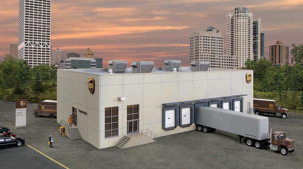 Walthers 4110, Central de carga UPS con centro clientes
