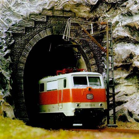 Busch 7026, Portal de túnel una vía HO