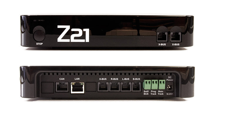 Central DCC Roco Z21 Black