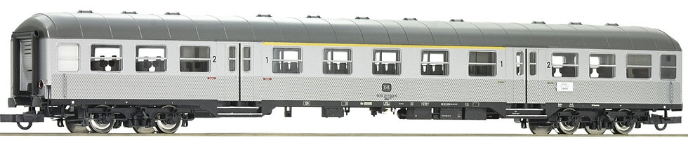 "Roco 74587, Coche de cercanías de 1a/2a clase ""Silberling"", DB, época IV"