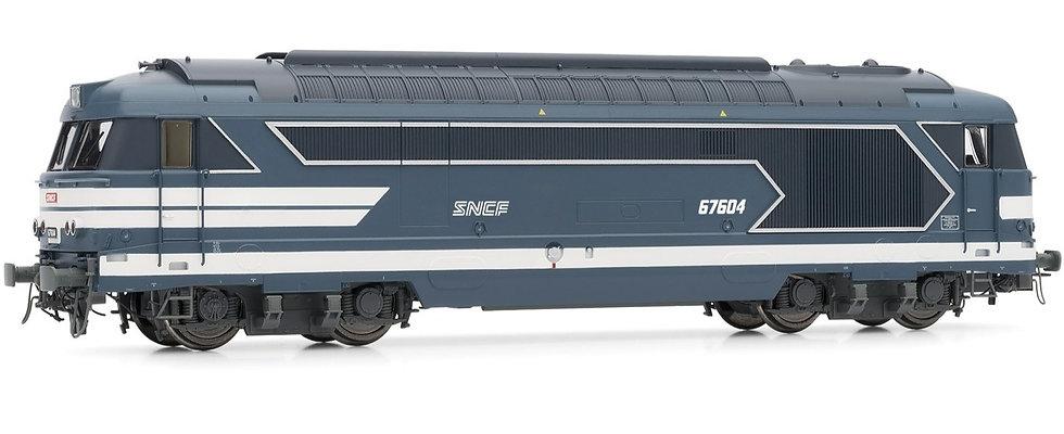 Jouef HJ2340, Locomotora diésel BB 67604 SNCF, época IV