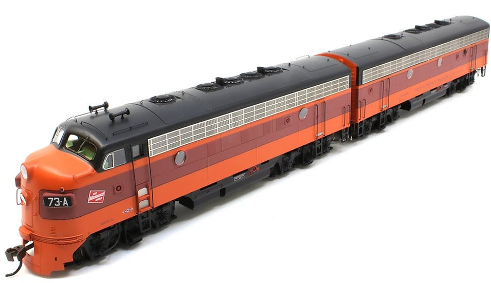 ATHEARN GENESIS ATHG12322, Locomotora F7A + F7B Milwaukee Road, #69-C