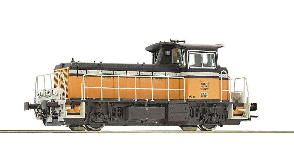 Roco 72009, Locomotora diésel serie Y 8000, SNCF, época IV [DCC + SONIDO]