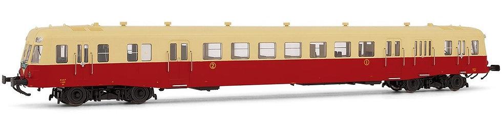 Jouef HJ2359, Automotor diésel clase  X 2400 librea rojo-beige, SNCF, época III