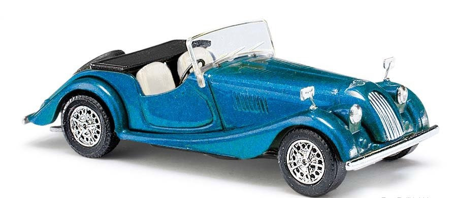 Busch 47117, Morgan Plus 8 Roadster 1968 - Azul