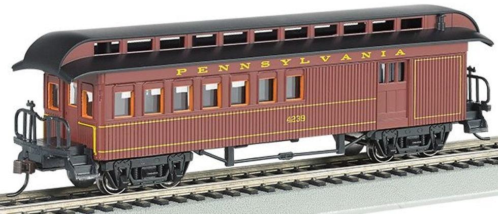Bachmann Silver 15202, Coche de pasajeros Pennsylvania RR, época 1860-1880