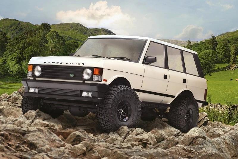 Carisma CIS78568, 1/10 Scale '81 Range Rover 4WD RTR Scale Rock Crawler
