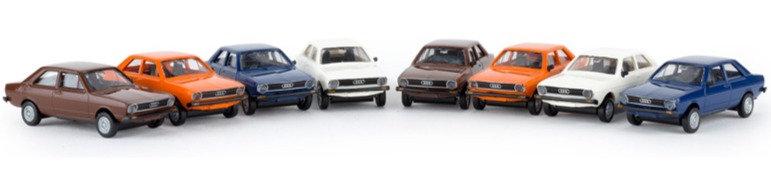 BREKINA 90460, Pack Economy 8 autos AUDI 80