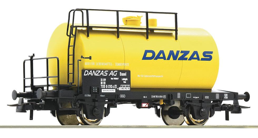 """Roco 76780, Vagón cisterna """"Danzas"""", DB, época IV"""