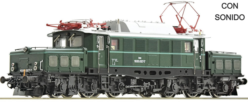 Roco 73127, Locomotora eléctrica 1020.027-7, ÖBB, época V [DCC + SONIDO]