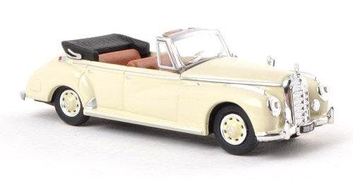 Brekina Rik38327, Mercedes 300c (W186) Cabriolet, beige, 1955
