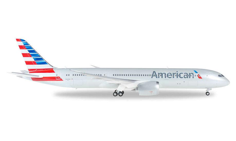 Herpa 557887, AMERICAN AIRLINES BOEING 787-9 DREAMLINER (1:200)