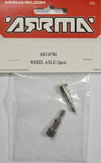 Arrma AR310784, Wheel axle (2 pcs)