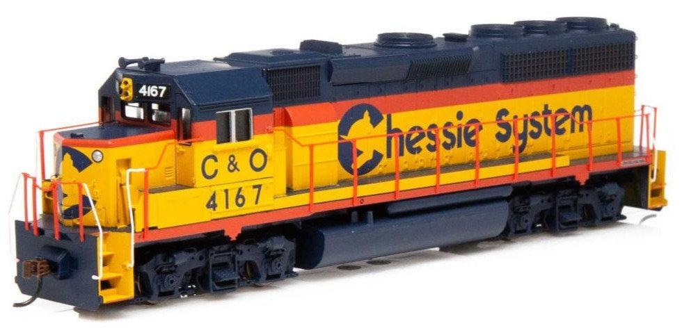 ATHEARN RND14881, Locomotora GP40-2, C&O #4182