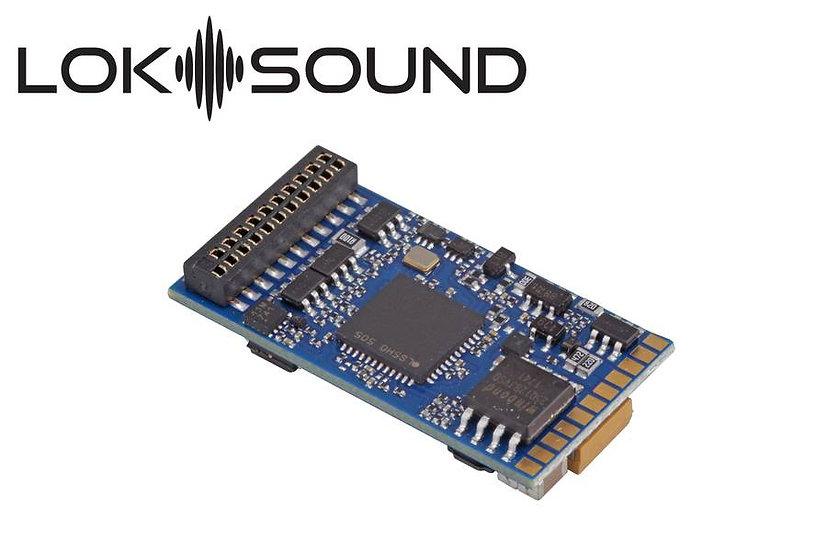 ESU 58419, LokSound 5 DCC/MM/SX/M4, 21MTC NEM6660, c/parlante 11x15mm