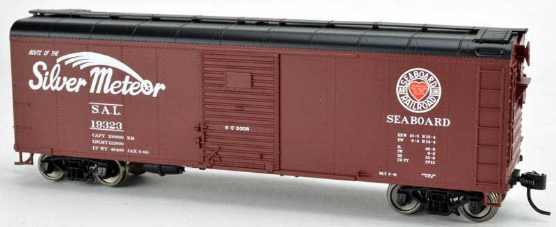 Bowser 42331, Boxcar SAL Silver Meteor single door flush