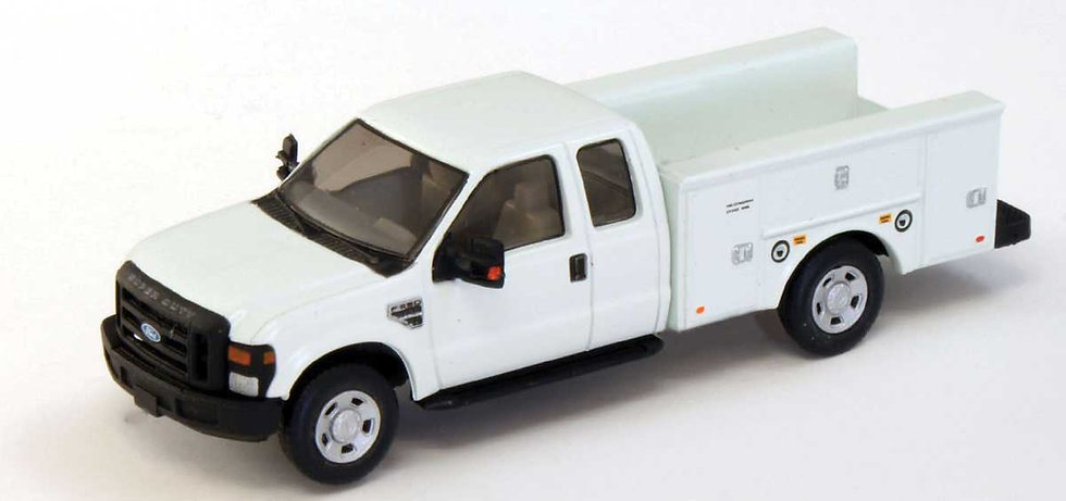 River Point Station, 2008 Ford F-350 Super-Cab Service Truck, blanco