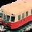 Thumbnail: Jouef HJ2359, Automotor diésel clase  X 2400 librea rojo-beige, SNCF, época III
