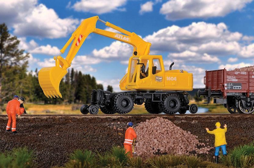 Scene Master 11014, HI Rail excavator