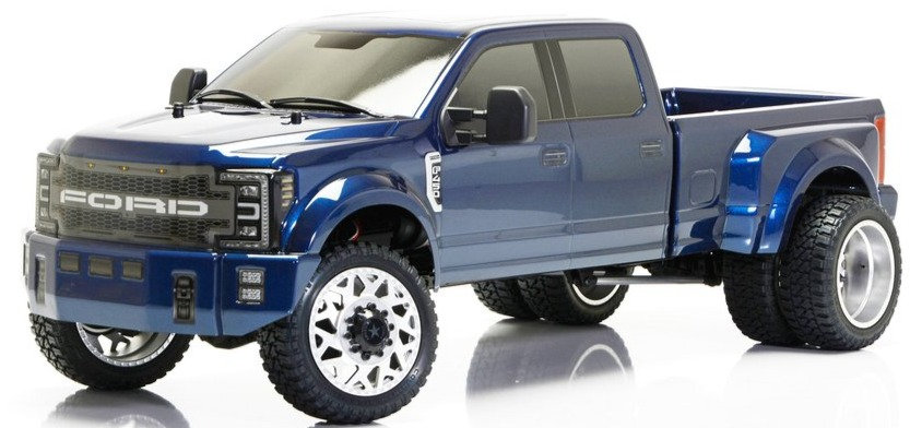 CEN CEG8980, 1/10 Ford F450 SD RTR Custom Truck (Galaxy Blue)