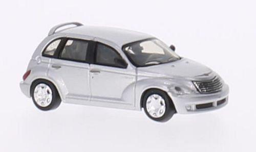 Brekina Rik38461, Chrysler PT Cruiser, plateado, 2006