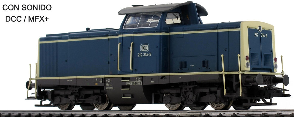 TRIX 22827, Locomotora diésel BR 212, DB, época IV