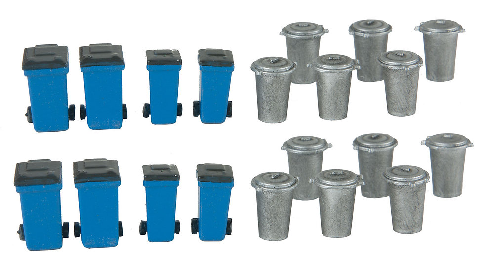 Walthers 4127, Pack de 20 contenedores de basura