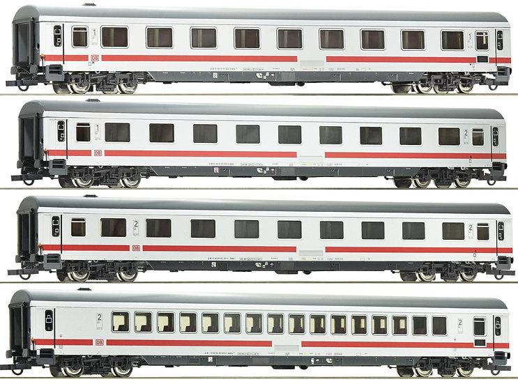 Roco 74670/1/2/3, Conjunto 4 coches IC DB AG, época VI
