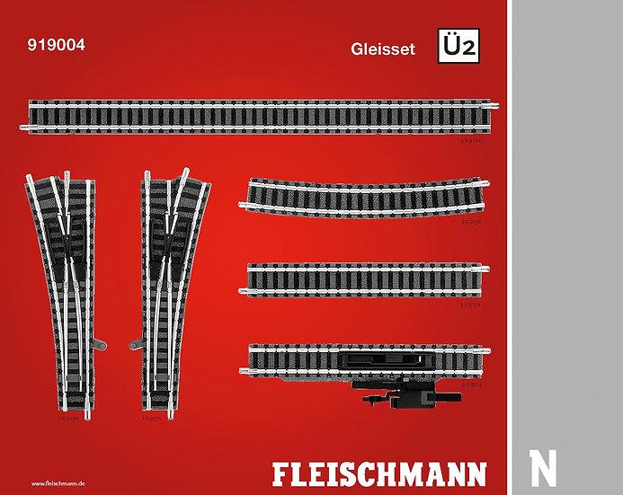 "Fleischmann 919004, Set vías Profi ""Ü2"""