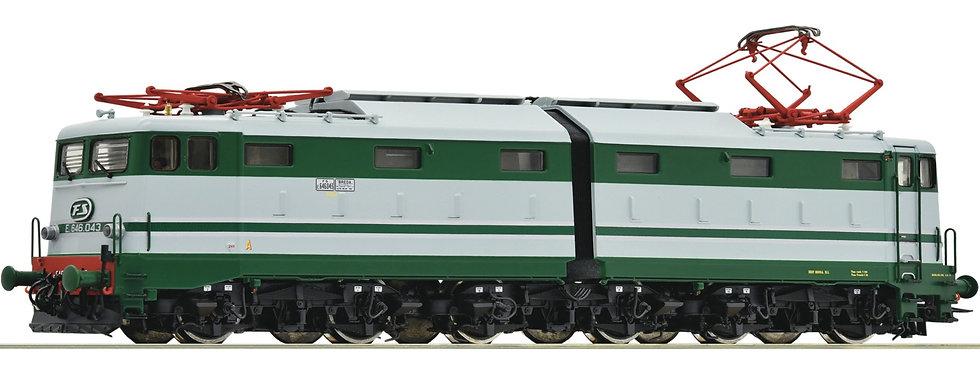 Roco 73164, Locomotora eléctrica E.646.043, FS, época IV