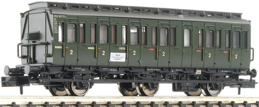 FLEISCHMANN 807002. Abteilwagen  2. Klasse, DB