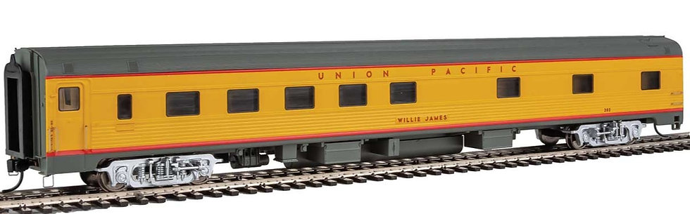 Walthers Proto 14103, 85' Budd 10-6 Sleeper Union Pacific ILUMINADO