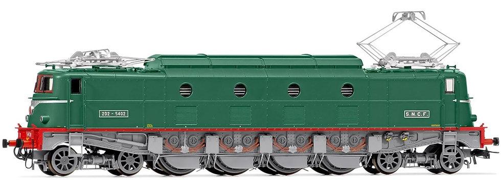 Jouef HJ2368, Locomotora eléctrica 2D2 5402 verde, época IV
