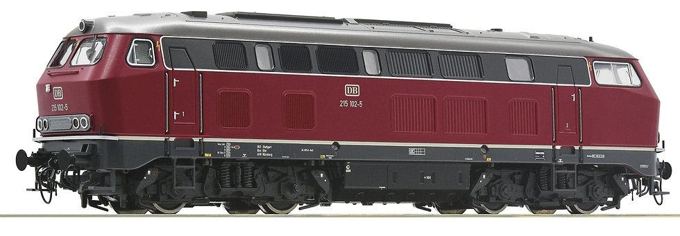 Roco 78752. Locomotora diésel BR215, DB. época IV [CON SONIDO]
