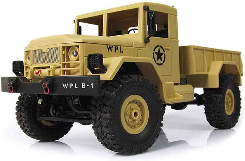 WPL B14, 1/16 Military Command Truck  4WD RTR