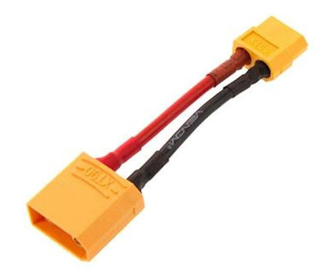 VNR17031,  Conector XT60 Female Device to XT90 Male Battery Plug,14AWG