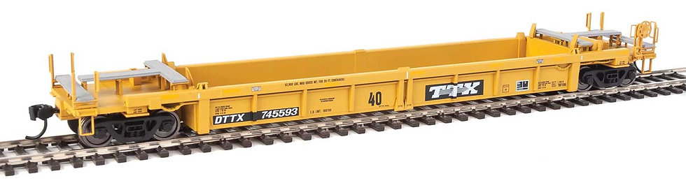 Walthers 5634, Thrall Rebuilt 40' Well Car