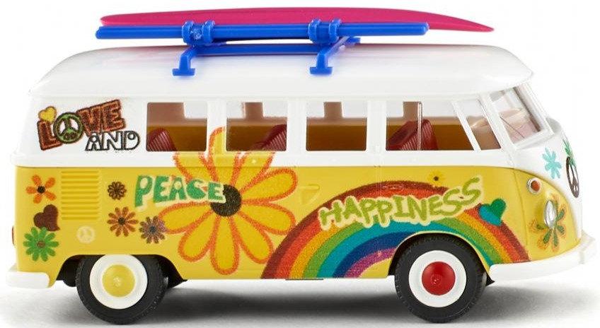 """Wiking 079725, VW T1 Bus """"Flower Power"""""""