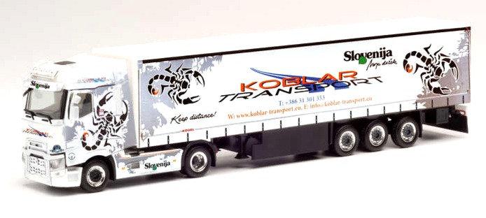 """Herpa 312073, Renault T """"KOBLAR TRANSPORT SLOVENIA"""""""