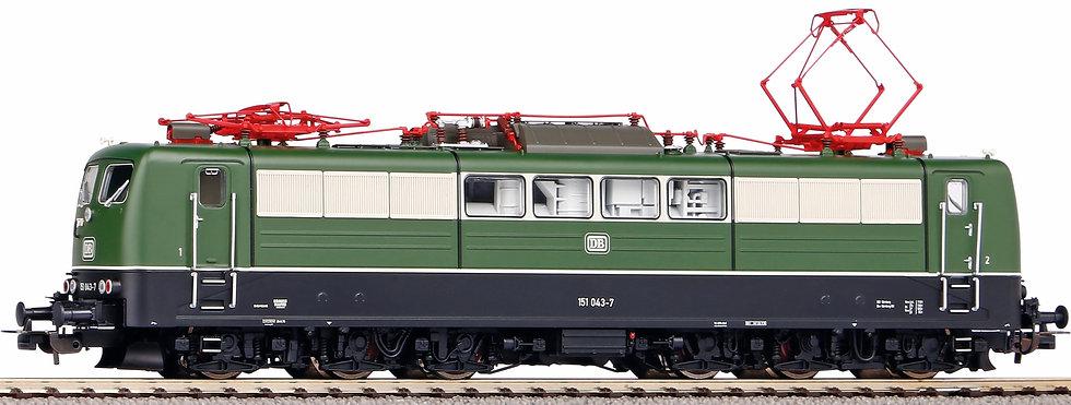 Piko  51314. Locomotora eléctrica BR151 DB, Ép IV  (verde)