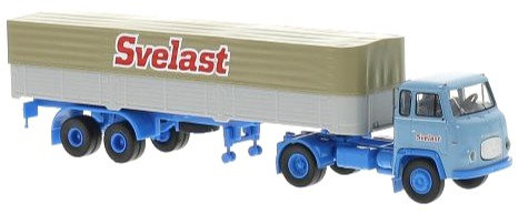 Brekina  85158, Scania LB 76, Svelast, lona de cama plana