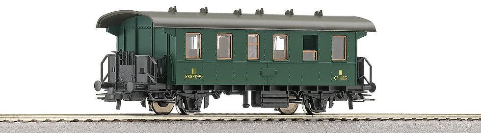 Roco  54332. Coche 3° clase, RENFE. Época III.