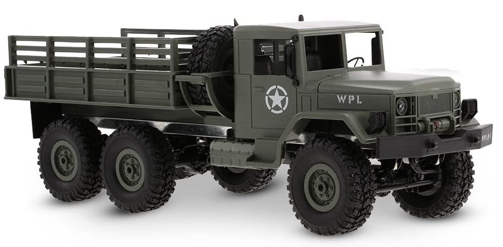 WPL B16, 1/16 Military Command Truck  6WD RTR
