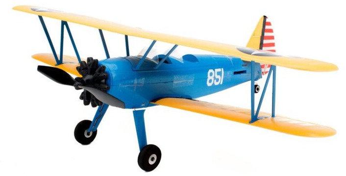EFLU3080, UMX PT-17 BNF con AS3X, 388mm