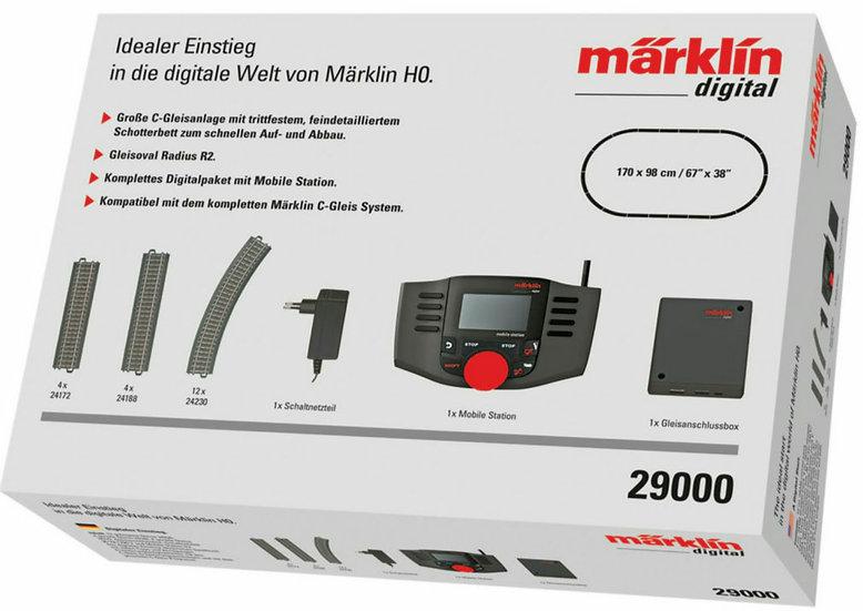 Märklin 29000, Set iniciación digital Mobile Station II