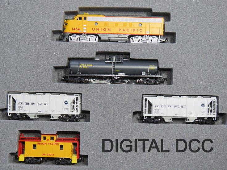 Kato 1066272DCC, set tren de carga EMD F7 Union Pacific  [DCC]