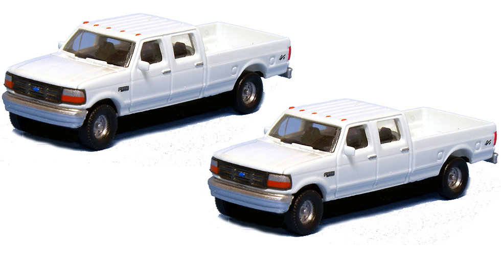 River Point Minis, Pack de 2  camionetas 1992 Ford F-250