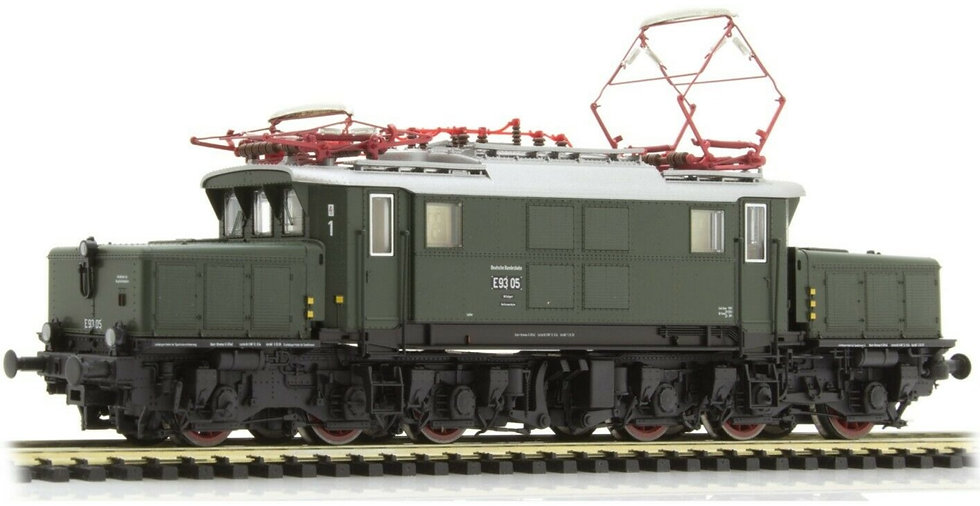 PIKO 51098, Locomotora eléctrica E 93, DB, época III